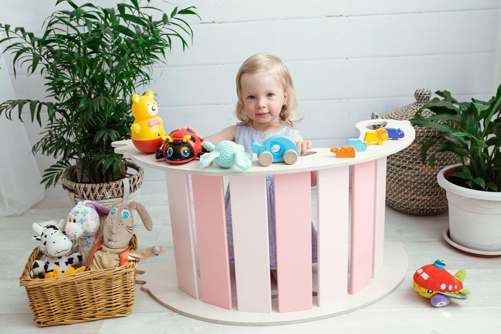 rocking toy birdie pink - Bogenwippe und Kletterbogen - BIRDIE pink