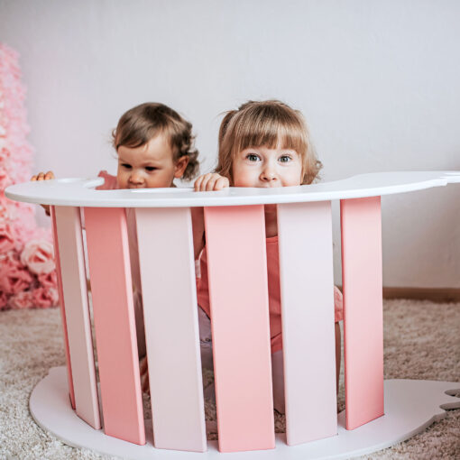 Rocker toy birdie pink - Schaukeltier Birdie pink als Spieltisch für Babys und Kleinkinder