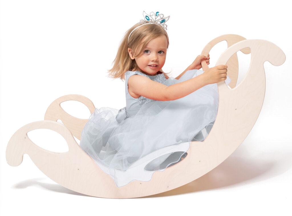 rocking toy jumbo white