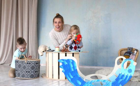 rocking toy for family - Schaukelspielzeug für die Familie