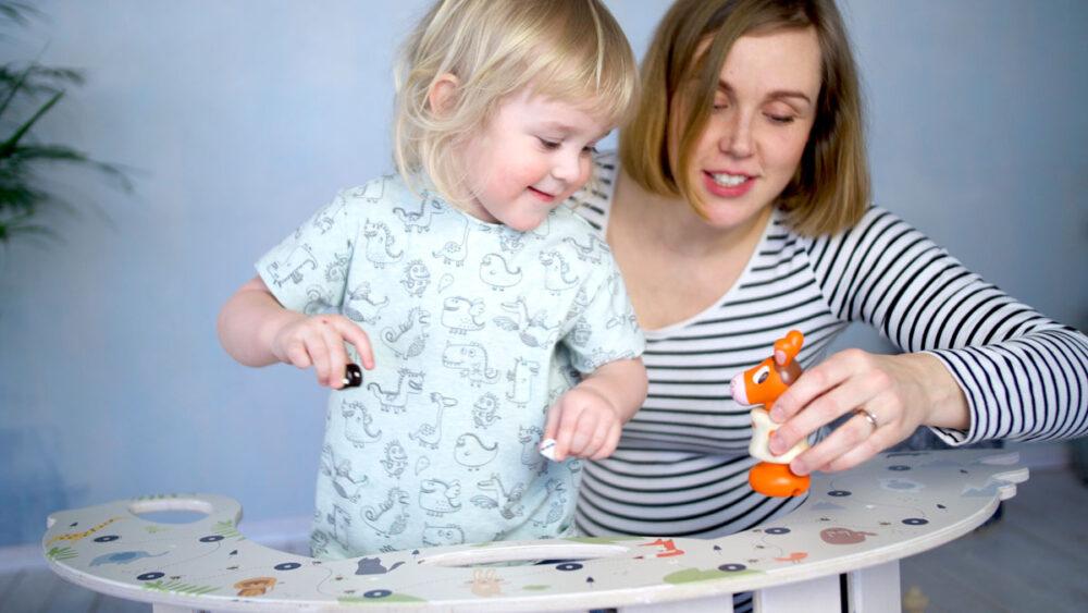 Rocking Toy Board Game Birdie - Schaukelspielzeug Brettspiel Birdie