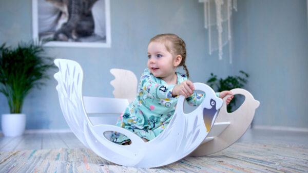 rocking toy swan - Schaukeltier Schwan
