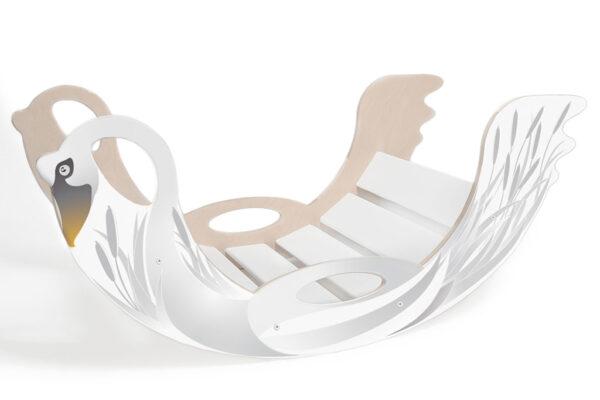 rainbow rocker swan - Schaukeltier Schwan