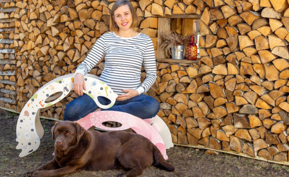 Anna-Liisa, Certified Midwife, Mother and Rocking Toy Creator and Designer