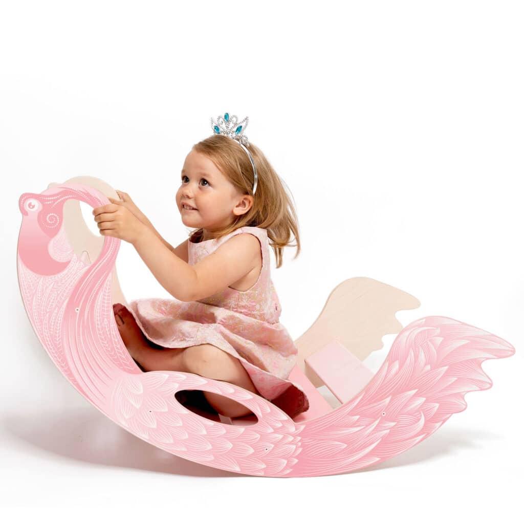 rocking toy flamingo - Schaukletier Flamingo Holzspielzeug