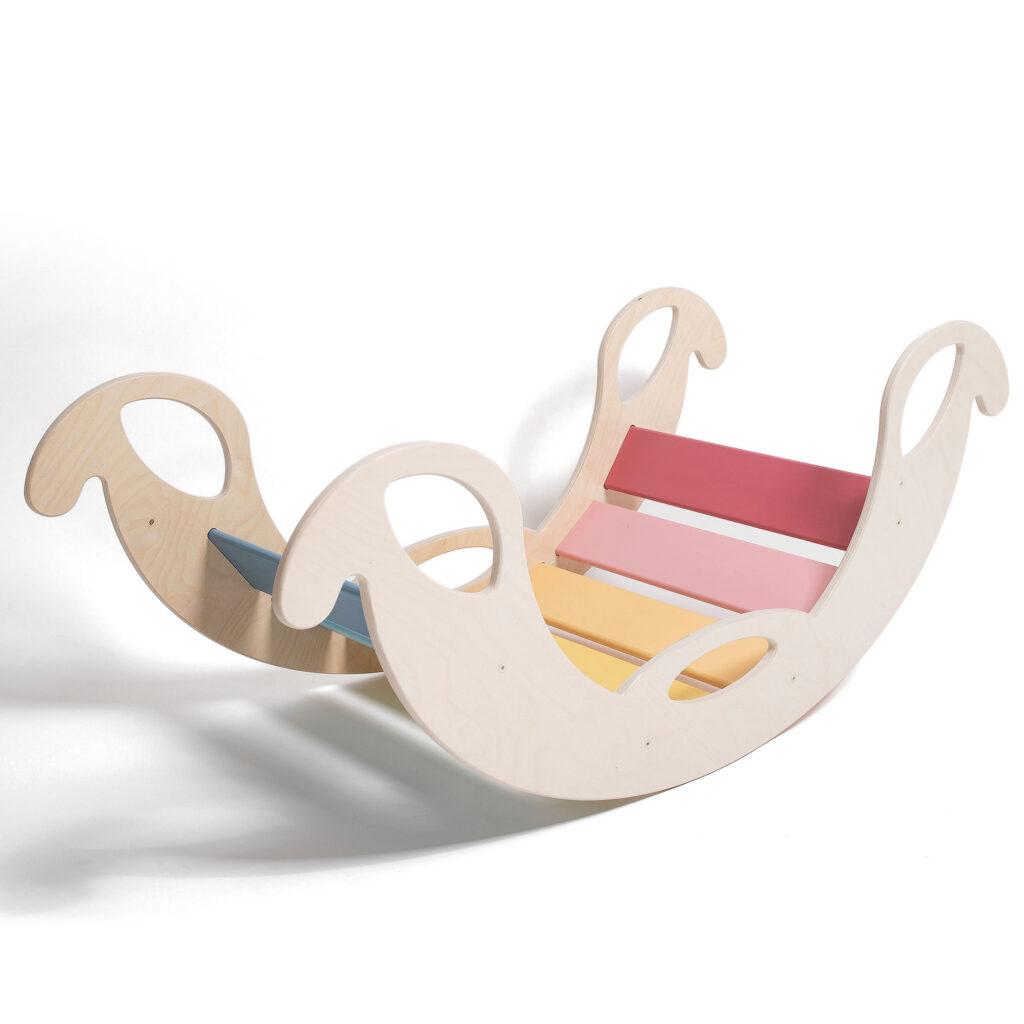 Rocker toy jumbo rainbow - Schaukelelefant Jumbo Regenbogenwippe