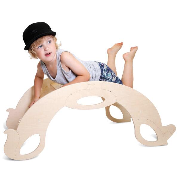 Montessori Rocker Horse Natural