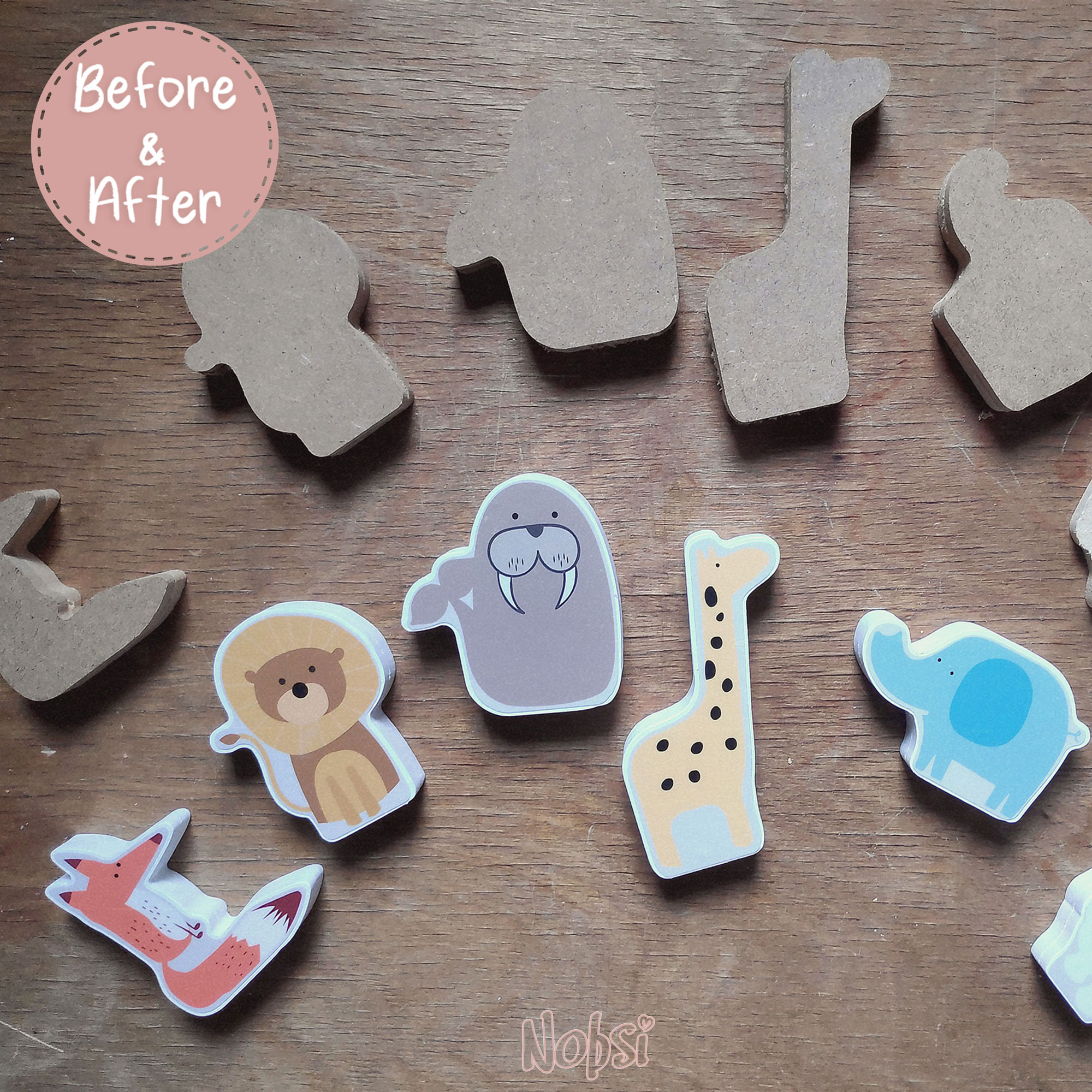 Handmade Wooden Toys - Made by Mum