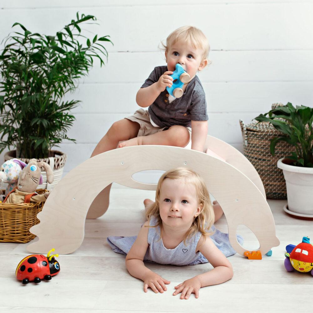 climbing-toys-for-toddlers - Nobsi Kletterbogen Birdie für Kleinkinder