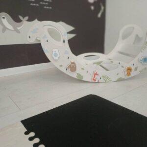 magnetic jigsaw rocking toy - Schaukelelefant Jumbo mit magnetischem Puzzle