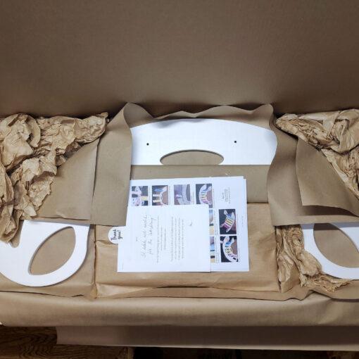 Nobsi rocking toys parts in the package - Nobsi Schaukelpferd als Einzelteile in der Verpackung