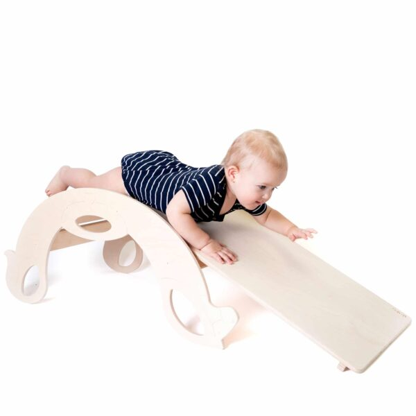 natural slide board for toddlers
