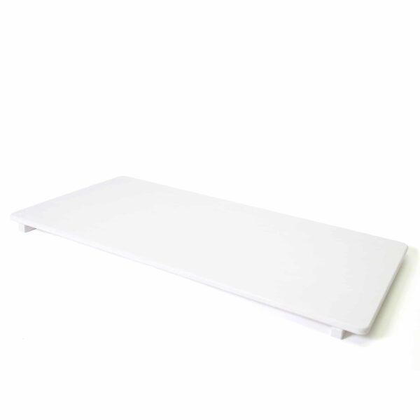 white slide board for kids - weisses Rutschbrett für Kinder Zubehör für Nobsi Schaukeltiere