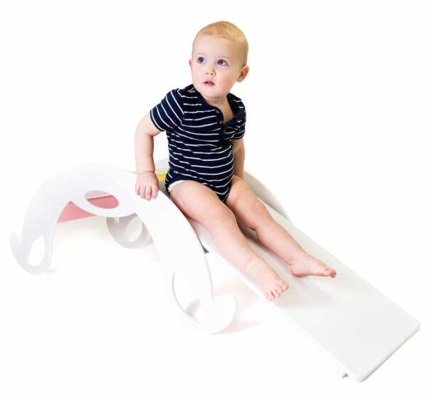 white slide board for kids