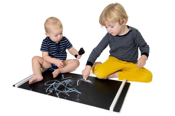 sliding board chalkboard - Nobsi Rutschbrett als Kreidetafel