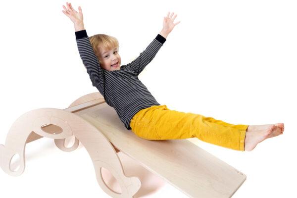 Sliding Board natural - Naturholz Rutschbrett