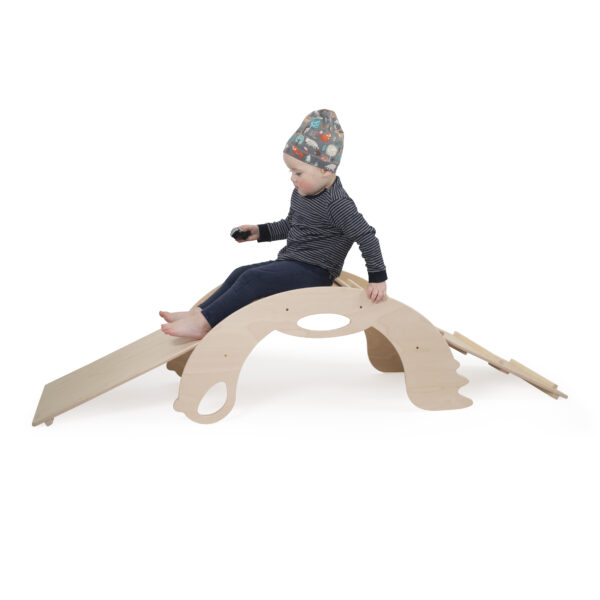 Natural Climbing and Sliding toy for toddlers