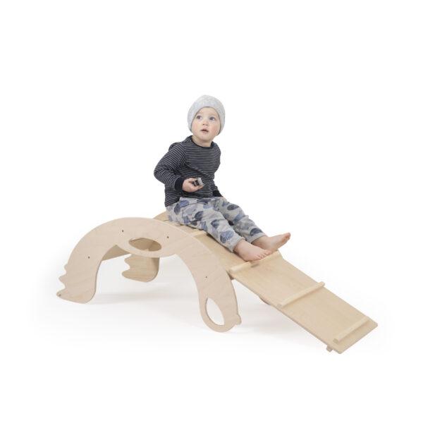 """Natural Climbing toys """"chicken ladder"""" for toddlers - Naturholz Kletterbrett """"Hühnerleiter"""" für Kleinkinder"""