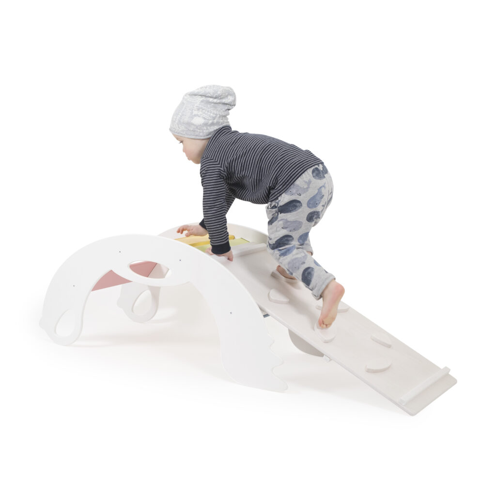 White Climbers for toddlers - Nobsi Climber weiss Kletterspielzeug