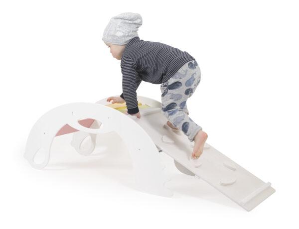 """White climber for Toddlers - Kletterspielzeug """"Bergsteiger"""" weiss für Kleinkinder"""