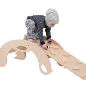 Natural Climbing toys for toddlers - Naturholz Kletterspielzeug für Kleinkinder