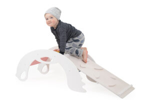 White Climbing toys for toddlers