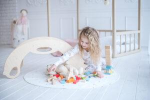 rocker toy birdie natural - Schaukeltier Birdie natural für Kleinkinder