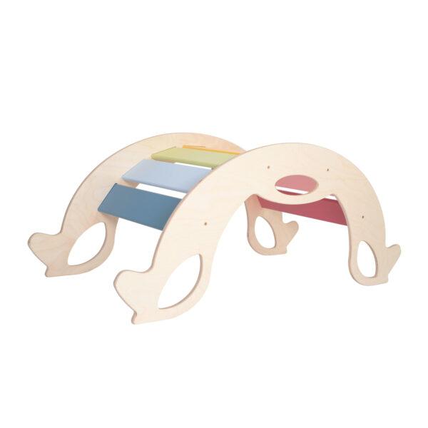 rocker horse rainbow - Regenbogen Schaukelpferd, Regenbogenwippe