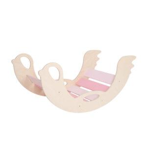 Rocker toy birdie pink - Schaukeltier Birdie pink aus Holz für Kleinkinder
